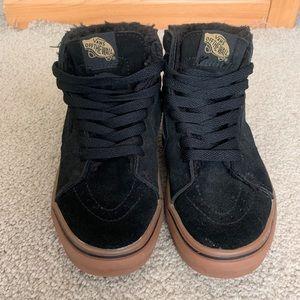 Vans sk8hi lined shoe
